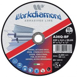 MIX - dischi abrasivi da taglio e da sbavo - Workdiamond
