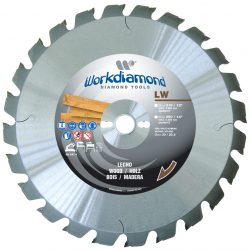 LW - Dischi widia, dischi widia per seghe circolari -Workdiamond