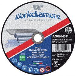 INX DA TAGLIO - dischi abrasivi da taglio e da sbavo - Workdiamond