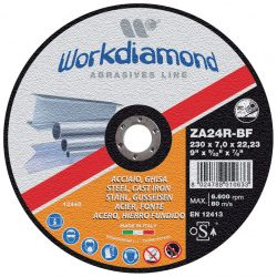 ZAG - Dischi abrasivi, dischi abrasivi da taglio e da sbavo - Workdiamond